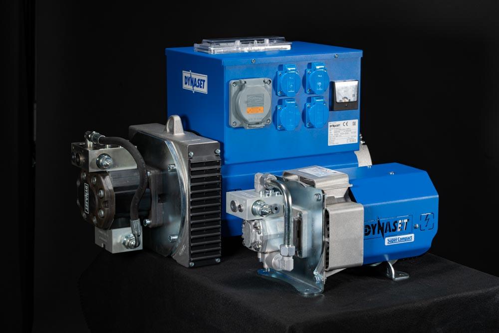 New 37kVA and18kVA HG Hydraulic Generator Super Compact model 2