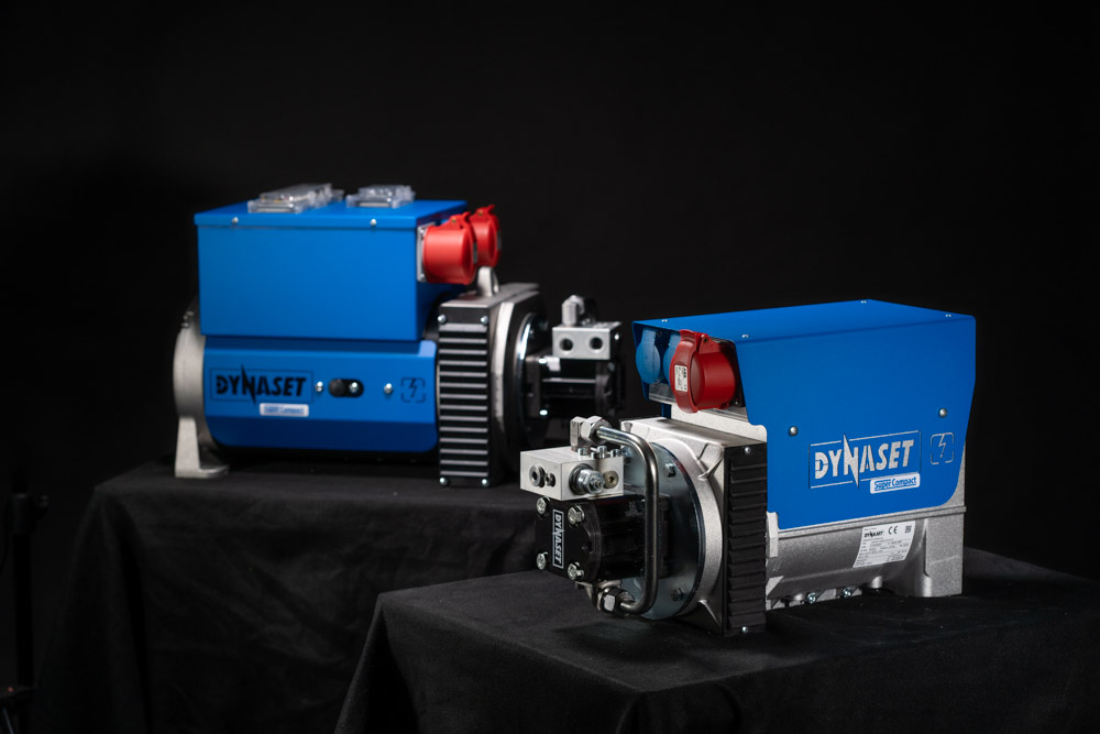 New 65kVA and19kVA HG Hydraulic Generator Super Compact model 3