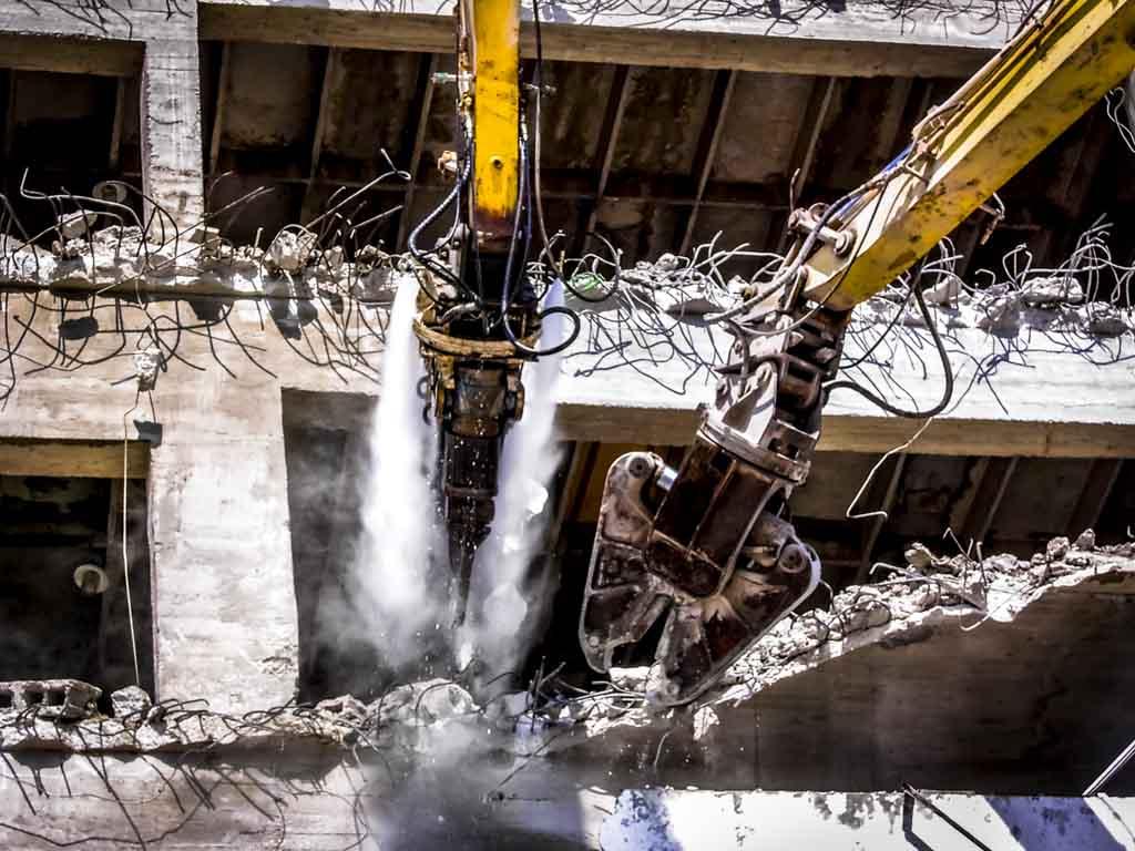DYNASET HPW DUST High Pressure Dust Suppression Excavator Demolition Close web 1
