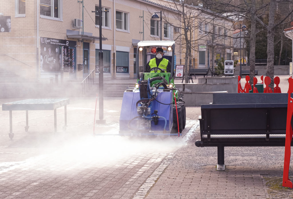 Public spaces can be disinfected with KPL unit