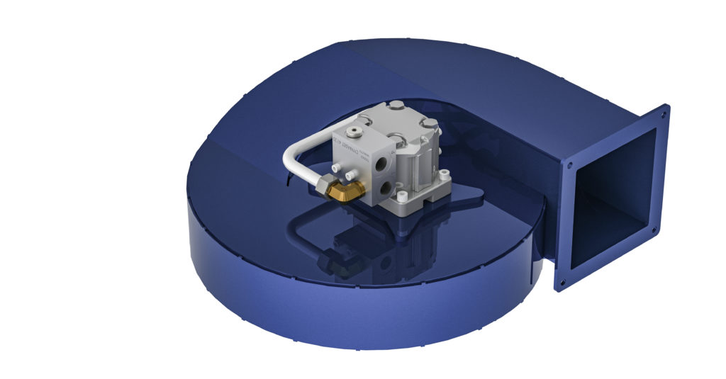 DYNASET HCF Hydraulic Centrifugal Fan is the heart of the new DYNASET Vacuum product category.