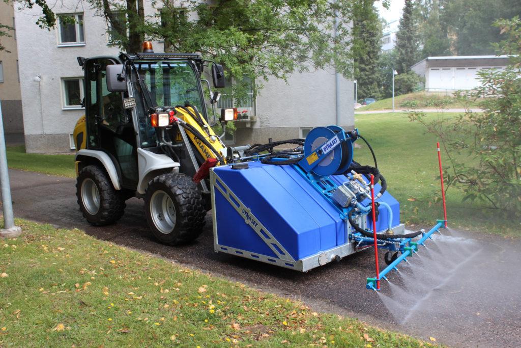 DYNASET KPL High Pressure Street Washing Unit for property maintenance companies.